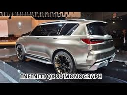 2018 infiniti monograph.  monograph new 2018 infiniti qx80 monograph  york auto show 2017 and infiniti monograph i