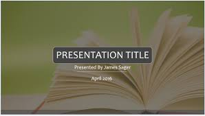 Book Powerpoint Template - East.keywesthideaways.co