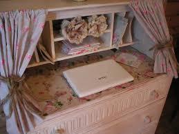 romantic decor home office. SHABBY CHIC ROMANTIC BUREAU DESK CRAFT AREA HOME OFFICE DECOUPAGED PARIS \u0026 ROSES £110.00 Romantic Decor Home Office G