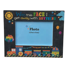 train photo frame boys train with this face photo frame train picture frame