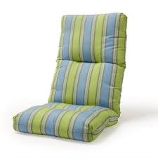 outdoor patio furniture high back chair cushion cosmic in patio cushions high back chairs