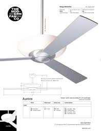 aurora ceiling fan