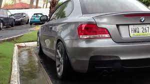 BMW 5 Series bmw m1 rear : My 2012 BMW 135i with M1 look rear bumper - YouTube