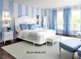 Blue Bedroom Ideas Designs Fair Paint And Wallpaper