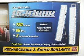 Emson Bell Howell Light Bar Bell Howell Light Bar 60 Led Rechargeable Portable 720lmn