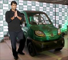 new car launches of bajajBajaj unveils small car RE60 may price it at Rs 125000  Rediff