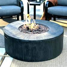 s top small fire pit table round gas