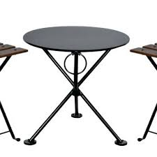 round outdoor side table awesome folding outdoor side table french bistro round steel outdoor tripod folding