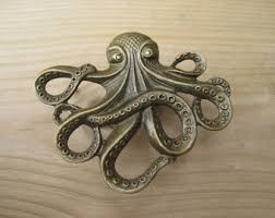 brass and metal furniture. octopus drawer knobs cabinet furniture in brass metal mk103 and o