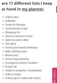Daily To Do List Examples Examples Of Different Lists To Keep In Your Planner