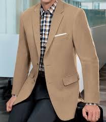 traveler tailored fit 2 on camel hair blazer