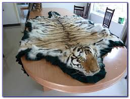 tiger skin rug meaning rugs ideas