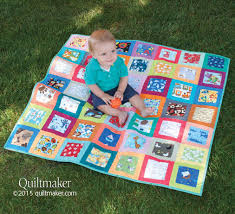 I Spy quilt pattern: Our super easy I Spy crib quilt designed by ... & I Spy quilt pattern: Our super easy I Spy crib quilt designed by Carolyn  Beam Adamdwight.com