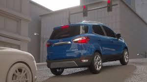 2018 ford new models. fine new 2018 ecosport with roll stability control rsc improves vehicle control to ford new models