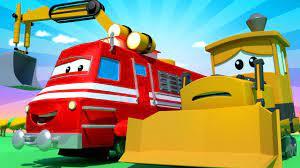 Xe lửa dành cho thiếu nhi - Xe lửa cứu hộ giải cứu Bobby khỏi vụ lở đất ! -  Thành phố xe 🚉 phim hoạt - YouTube