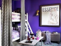 Bunk Bed Upgrade: Add a Canopy & Fabric Panels   HGTV