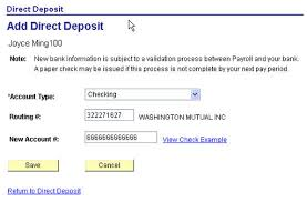 How To Fill Out Direct Deposit Form Hcm Direct Deposit Human Resources