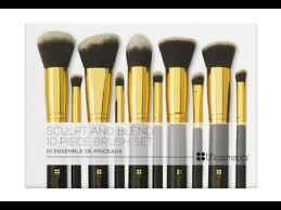 bh cosmetics sculpt and blend brushes. bh cosmetics | 10 piece sculpt \u0026 blend brush set bh and brushes h