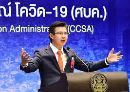 รัฐบาลไทย-ข่าวทำเนียบรัฐบาล-โฆษก ศบค. เผยพบผู้ติดเชื้อรายใหม่ 5 ราย ใน  State Quarantine ทุกรายไม่แสดงอาการ  พบผู้ติดเชื้อทั่วโลกยังคงเพิ่มขึ้นอย่างต่อเนื่อง