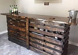 Diy Pallet Bar Wood Ideas Pinterest And Models