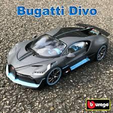 Get the best deals on bugatti diecast cars. Bugatti Divo Bburago 1 18 Scale Diecast Model Car Roadster Toys Collection Ebay