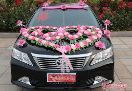 Wedding Car Decoration Design