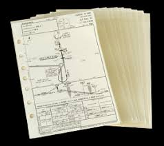Jeppesen Chart Protectors Jeppesen Approach Chart Protectors Set Of 10