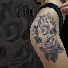 роза тату татуэскиз реализм цветы чб эскиз рисунок Tattoo