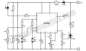 photoelectric smoke detector photoelectric smoke detector circuit schematic