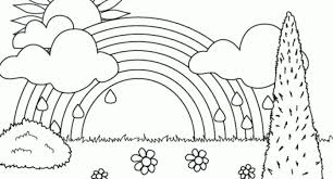 Printable Coloring Pages Of Rainbow Archives Cool Coloring Pages