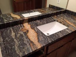quartz backsplashes granite vanity top with backsplash and sidesplash installed in madison wisconsin bathroom