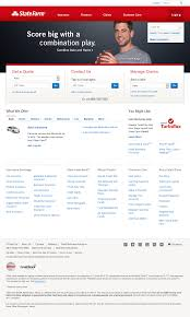 state farm website history