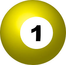 Pool Ball Number 1 Sphere - Free vector graphic on Pixabay
