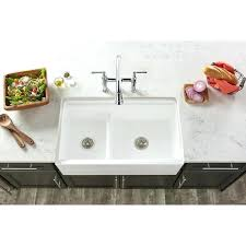farm house kitchen sink l x w double basin farmhouse kitchen sink with aqua divide white farmhouse kitchen