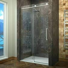 preventing water spots on glass shower doors stain chemical stains how to clean