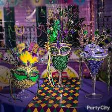 Mardi Gras Ball Decorations