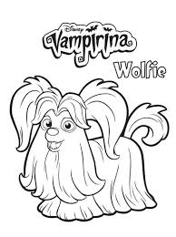 Disney Vampirina Coloring Pages