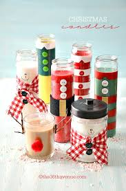 Christmas Gifts - Candles Tutorial at the36thavenue.com ...Pin it now and