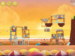 Angry Birds Rio Golden Beachball 3 Star Walkthroughs