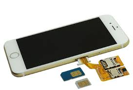 ผลการค้นหารูปภาพสำหรับ I phone รุ่นใหม่อาจใส่ได้สองซิม