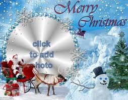 Christmas Card Images Free Merry Christmas Frame Make Your Own Christmas Card For Facebook