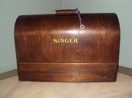 Singer Sewing Machine Wood Case