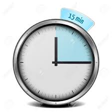 Timer For 15 Min Illustration Of A Metal Framed 15min Timer Stock Photo Picture And