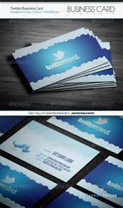 twitter on business card as important social media network twitter business card template by arphotography