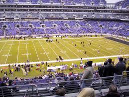 Ravens Stadium Interactive Seating Chart M T Bank Stadium View From Club Level 201 Vivid Seats