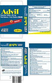 Advil Dosage Chart Advil Otc Brands Drugs Com