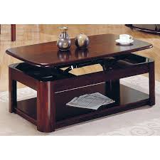 steve silver lidya lift top coffee table with casters at