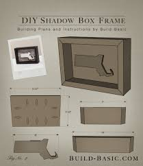 build a diy shadow box frame building plans by buildbasic build