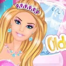 barbie room games