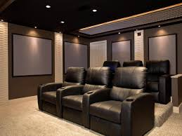 home media room designs. Outstanding Home Theater Room Size Basement Images Design Inspiration Media Designs